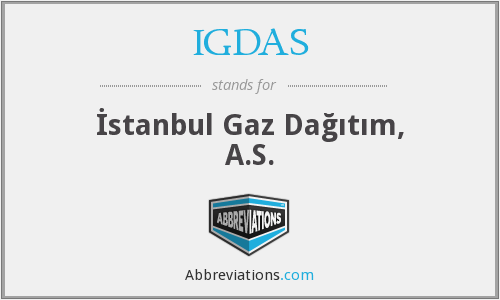 What does IGDAS stand for?