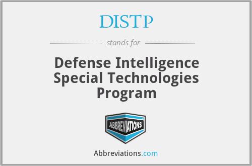 DISTP - Defense Intelligence Special Technologies Program