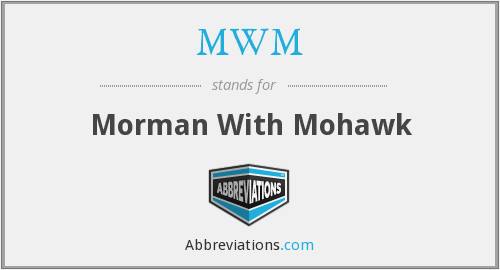 What does morman stand for?