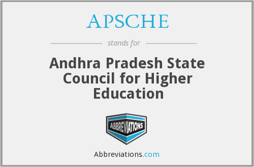 APSCHE - Andhra Pradesh State Council for Higher Education