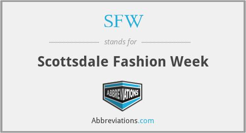 SFW - Scottsdale Fashion Week