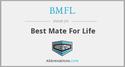 BMFL - Best Mate For Life
