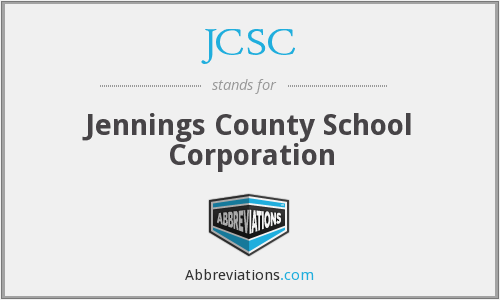 What does JCSC stand for?