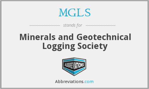 MGLS - Minerals and Geotechnical Logging Society