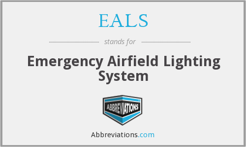 What does EALS stand for?
