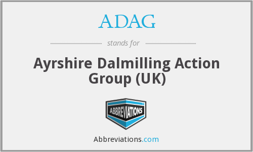ADAG - Ayrshire Dalmilling Action Group (UK)