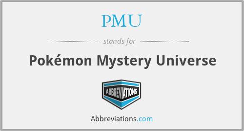 PMU - Pokémon Mystery Universe
