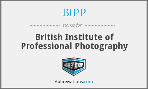 BIPP - British Institute of Professional Photography