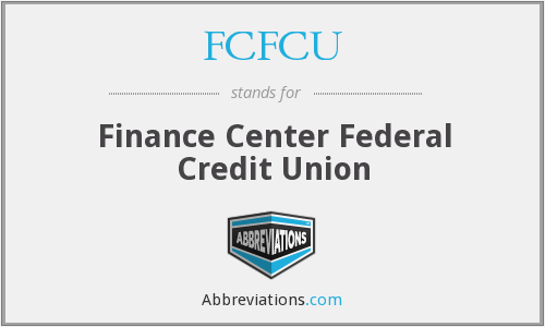 What does FCFCU stand for?
