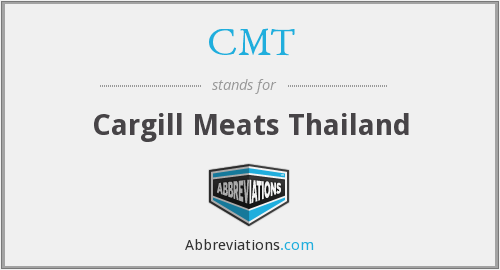 CMT - Cargill Meats Thailand