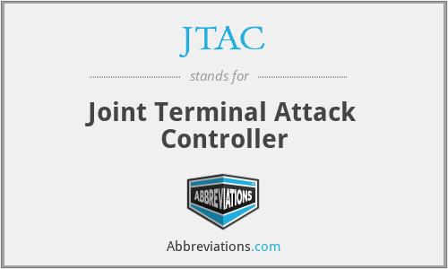 JTAC - Joint Terminal Attack Controller