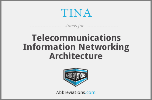 TINA - Telecommunications Information Networking Architecture