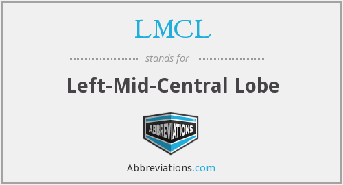 LMCL - Left-Mid-Central Lobe