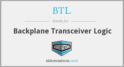 BTL - Backplane Transceiver Logic