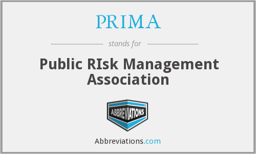 PRIMA - Public RIsk Management Association