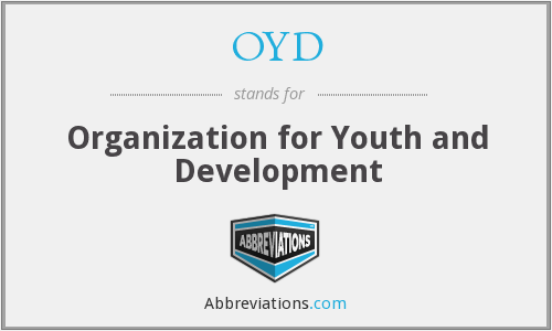 OYD - Organization for Youth and Development