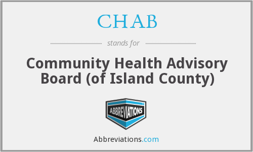 CHAB - Community Health Advisory Board (of Island County)