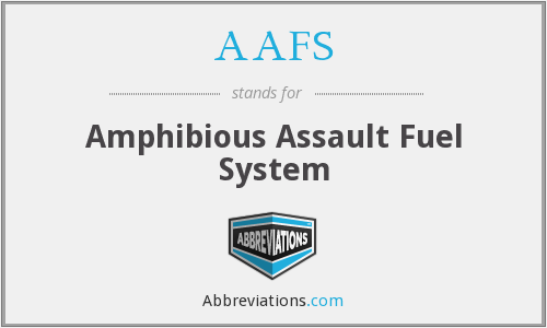 AAFS - Amphibious Assault Fuel System