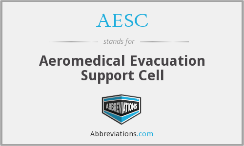 AESC - Aeromedical Evacuation Support Cell