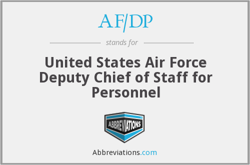 What does AF/DP stand for?
