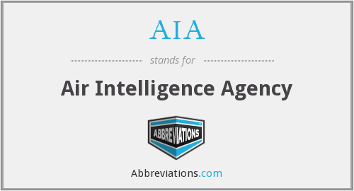 AIA - Air Intelligence Agency