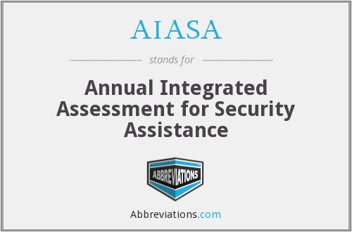 AIASA - Annual Integrated Assessment for Security Assistance