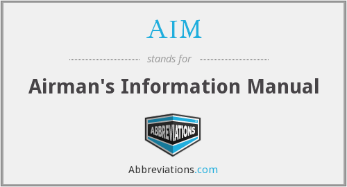 AIM - Airman's Information Manual