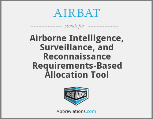 What does AIRBAT stand for?