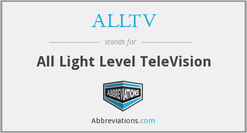 What does ALLTV stand for?