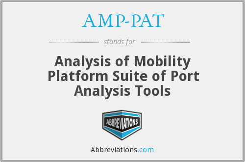What does AMP-PAT stand for?