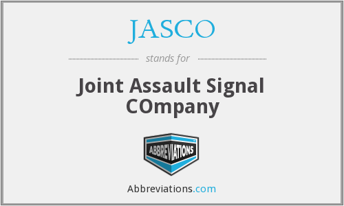 What does JASCO stand for?