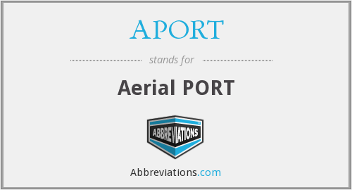 What does APORT stand for?