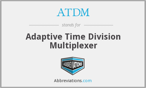 ATDM - Adaptive Time Division Multiplexer