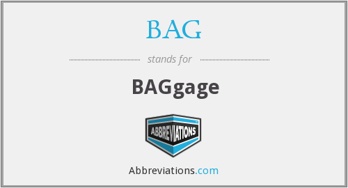 BAG - BAGgage