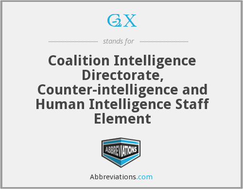 What does C-2X stand for?