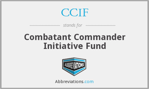 What does CCIF stand for?