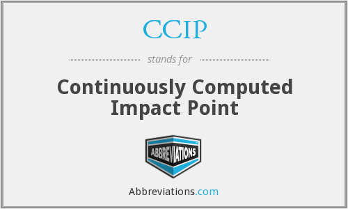 CCIP - Continuously Computed Impact Point