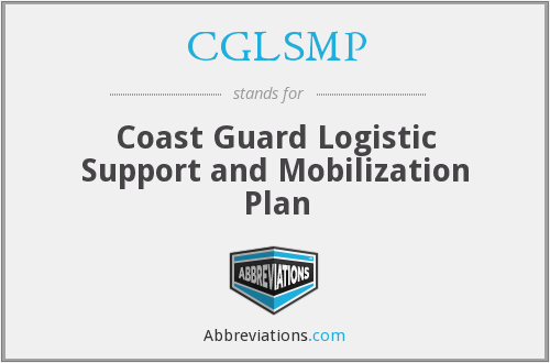 CGLSMP - Coast Guard Logistic Support and Mobilization Plan