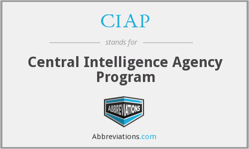 CIAP - Central Intelligence Agency Program