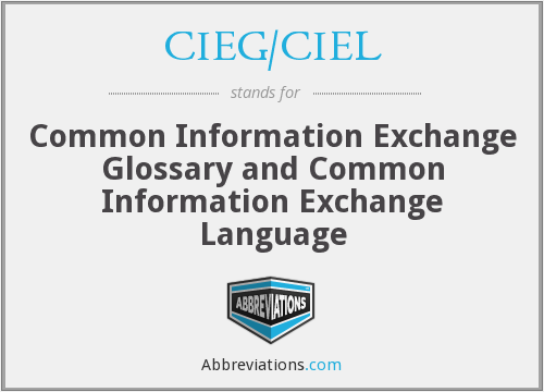 What does CIEG/CIEL stand for?