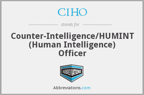What does CIHO stand for?