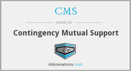 CMS - Contingency Mutual Support