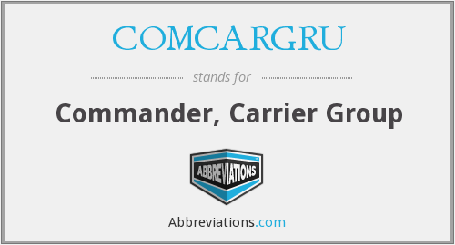 What does COMCARGRU stand for?