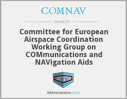 What does COMNAV stand for?