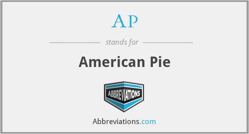 AP - American Pie