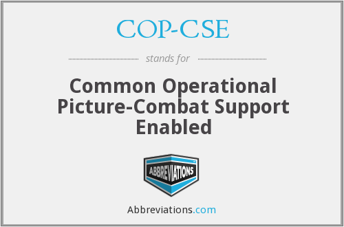 What does COP-CSE stand for?