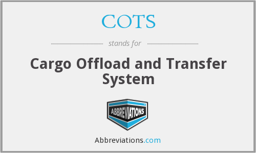 COTS - Cargo Offload and Transfer System