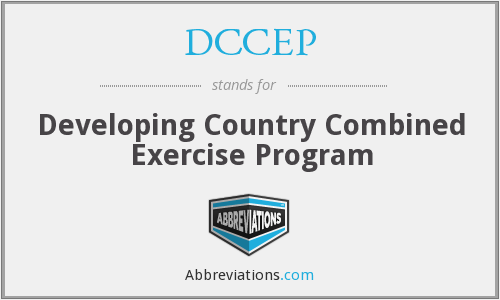 What does DCCEP stand for?