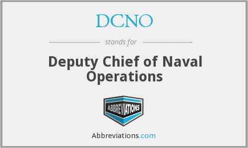 What does DCNO stand for?