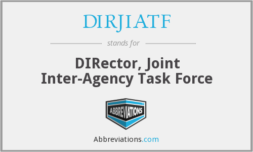 What does DIRJIATF stand for?